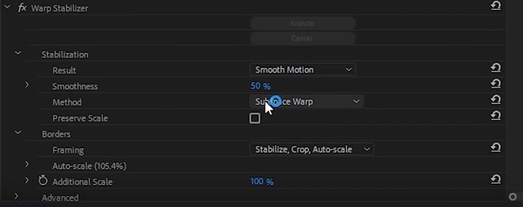 Как в Adobe Premiere Pro стабилизировать видео