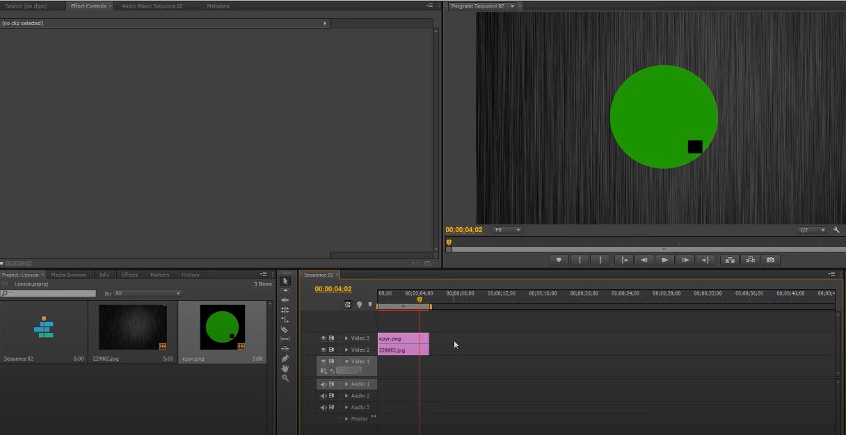 анимация в premiere pro