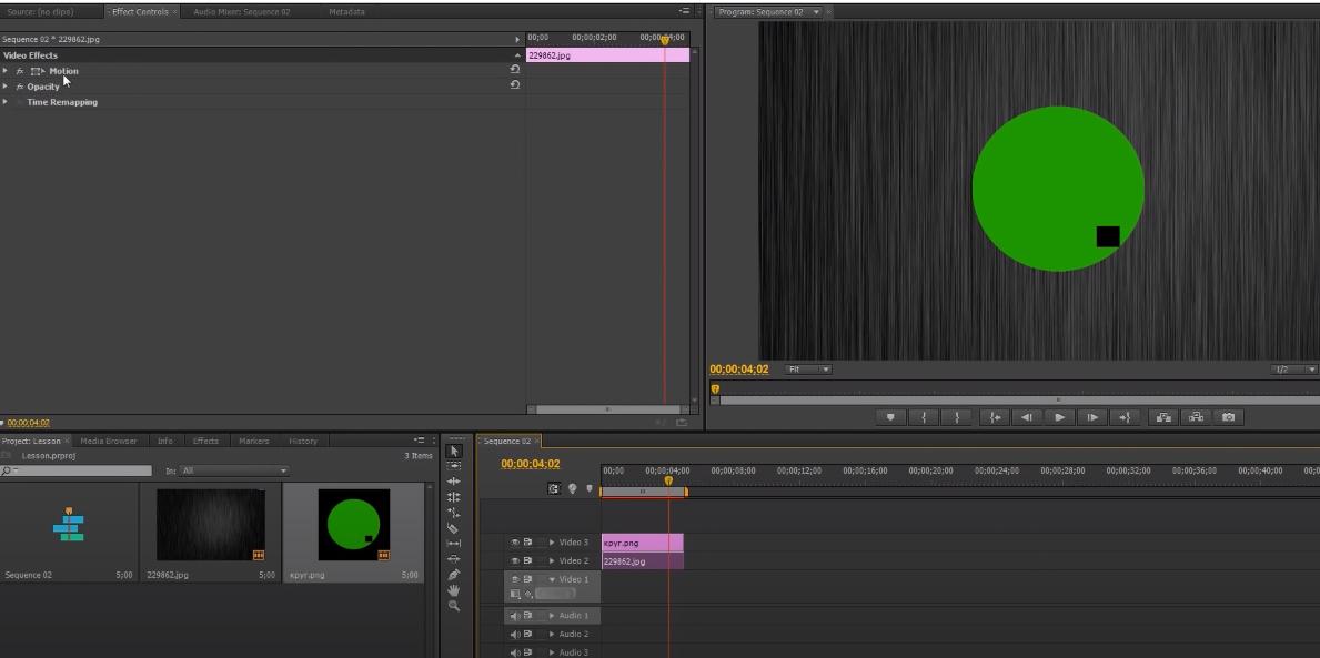 анимация в adobe premiere pro