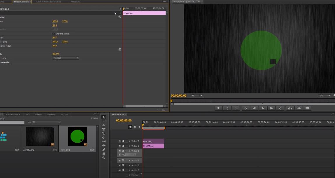 adobe premiere pro как сделать анимацию