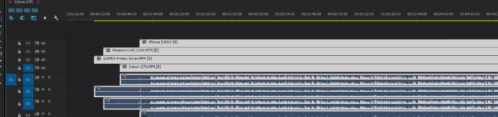 Как синхронизировать звук с видео в Adobe Premiere Pro