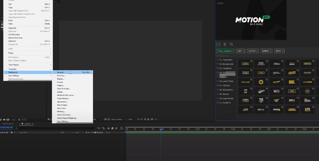 переходы для видео after effects