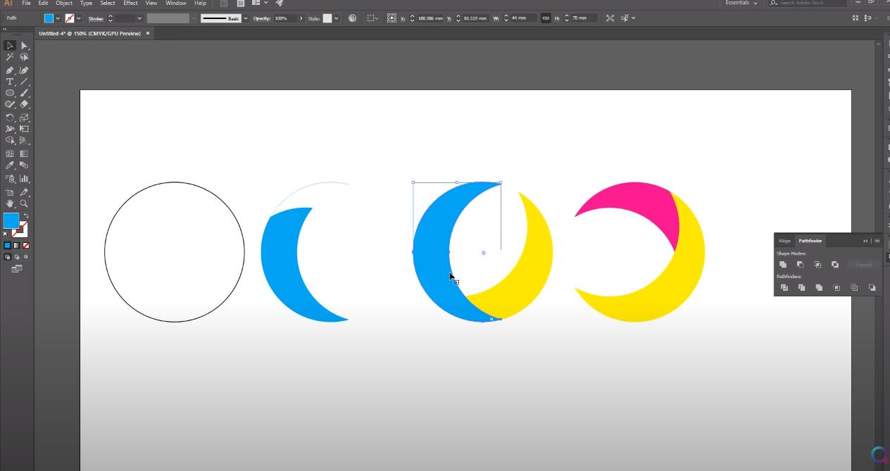 создание логотипа в illustrator
