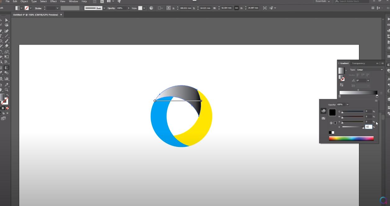 как делать логотип в adobe illustrator