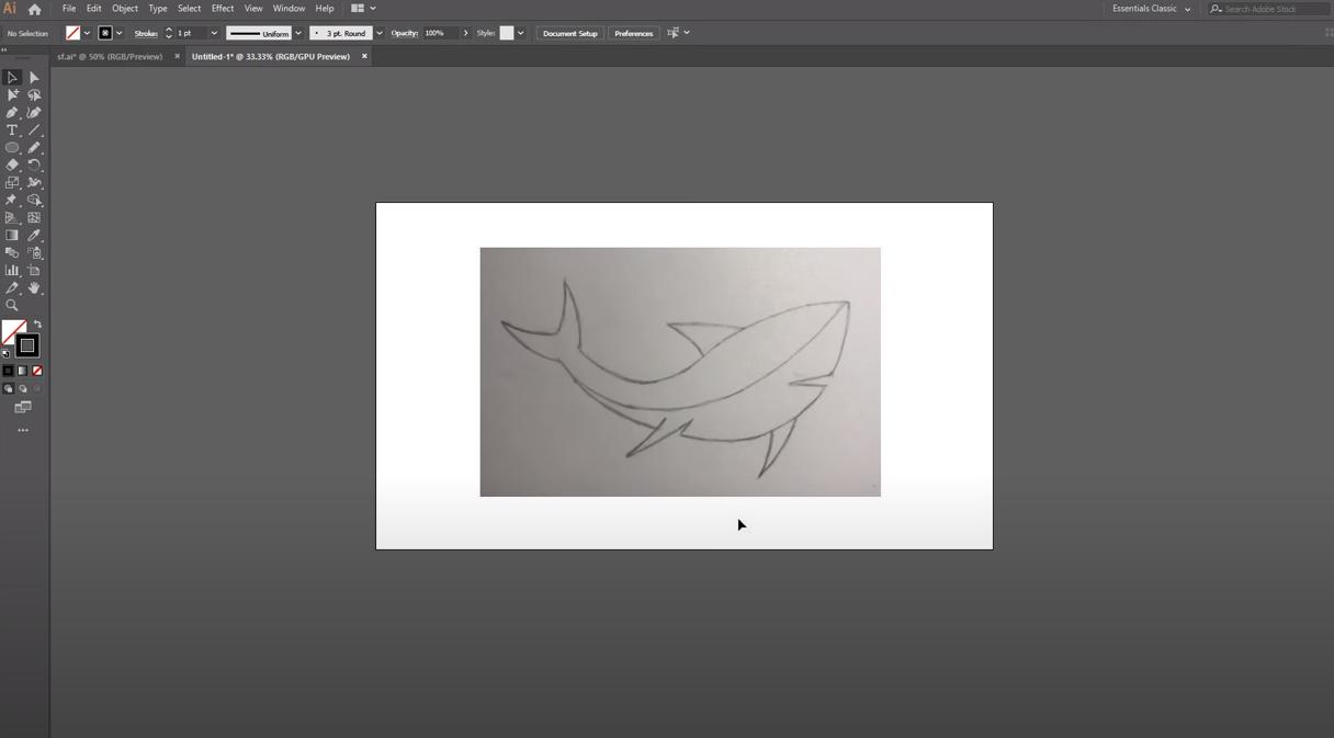 рисовать в объекте в illustrator