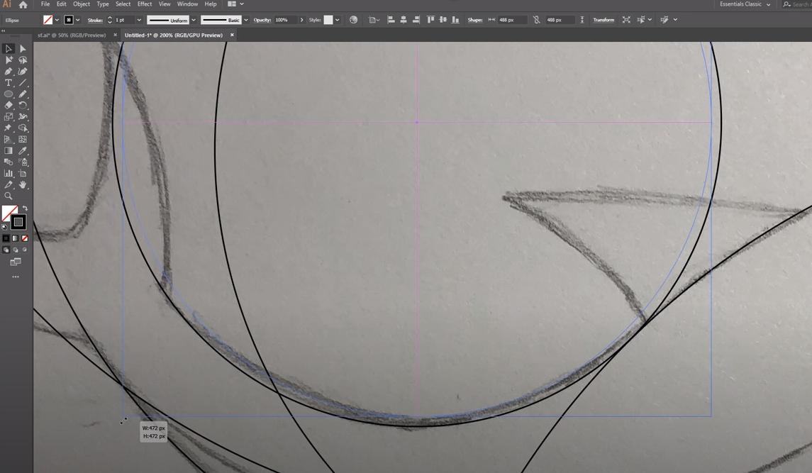adobe illustrator рисуем логотип