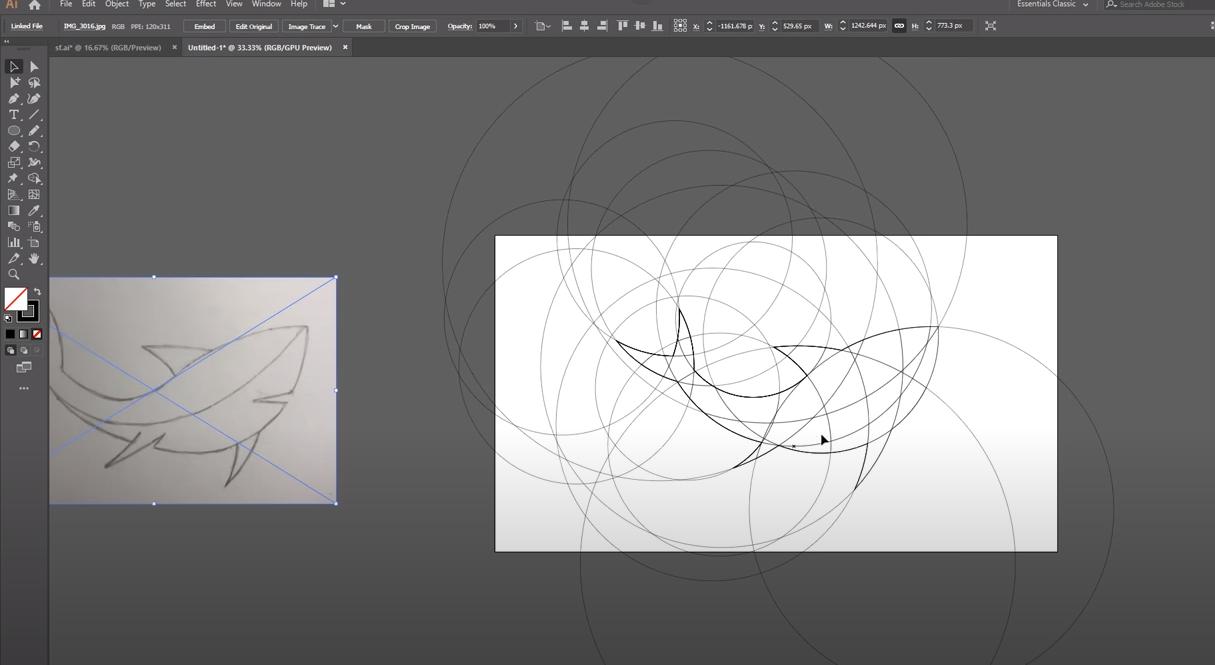 как рисовать в adobe illustrator