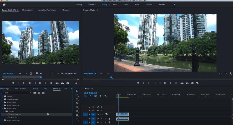 улучшение качества видео в adobe premiere pro