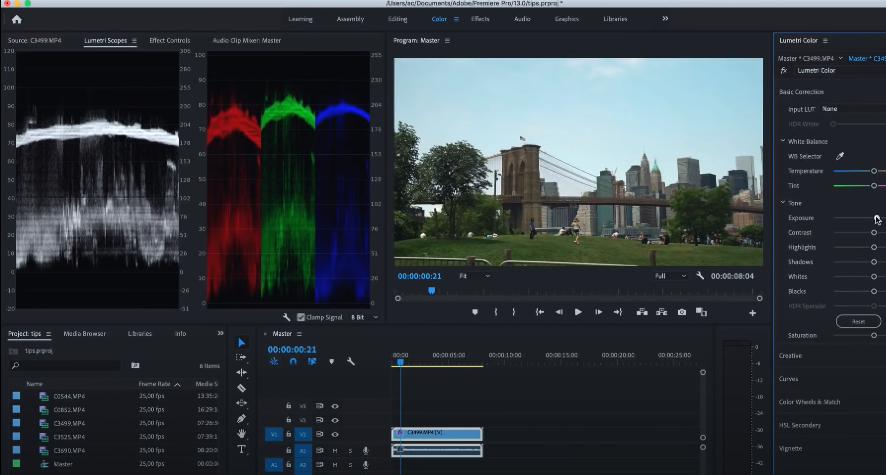 улучшение качества видео premiere pro