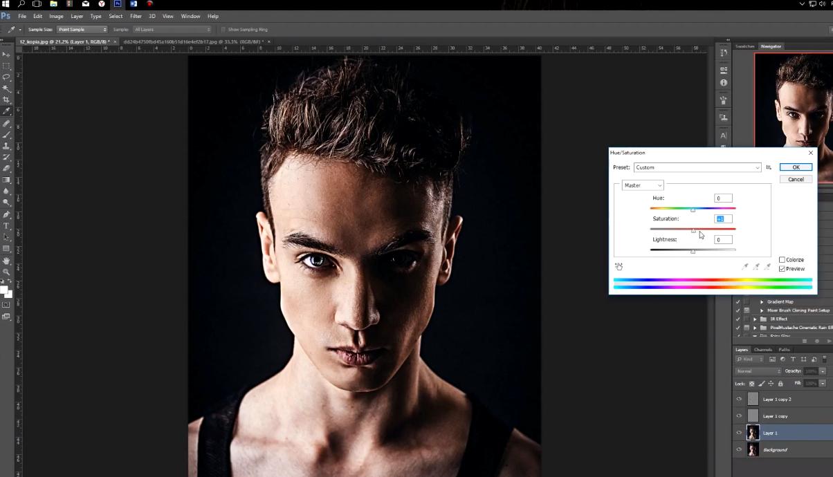 улучшение качества фото в фотошопе