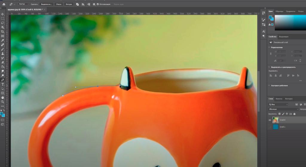 как работает инструмент перо в фотошопе