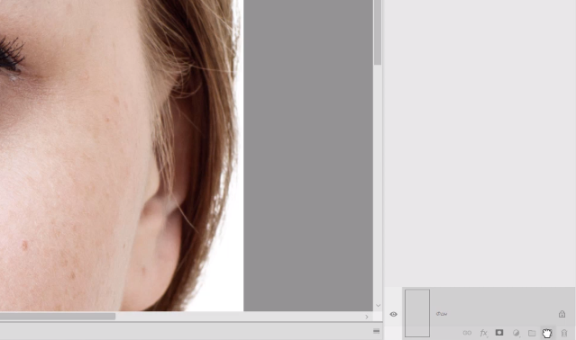 фотошоп синяки под глазами